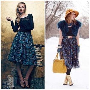 NWT Anthro Moulinette Soeurs Butterfly Skirt